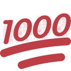 :thousand: