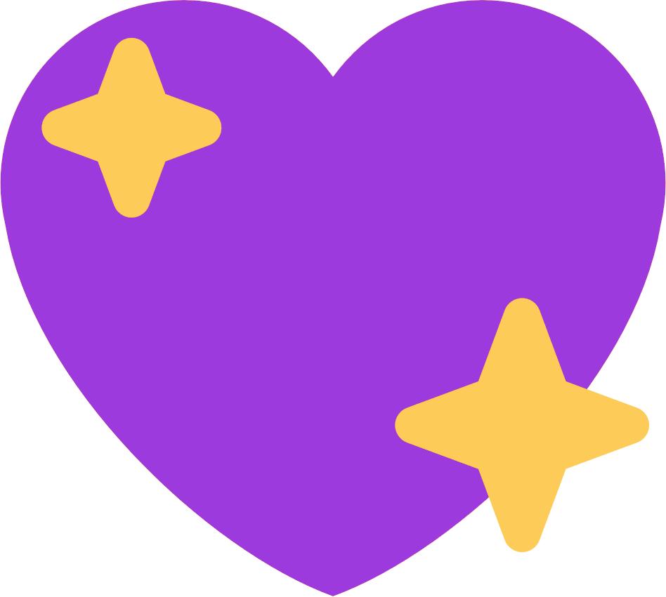 :purple_sparkling_heart: