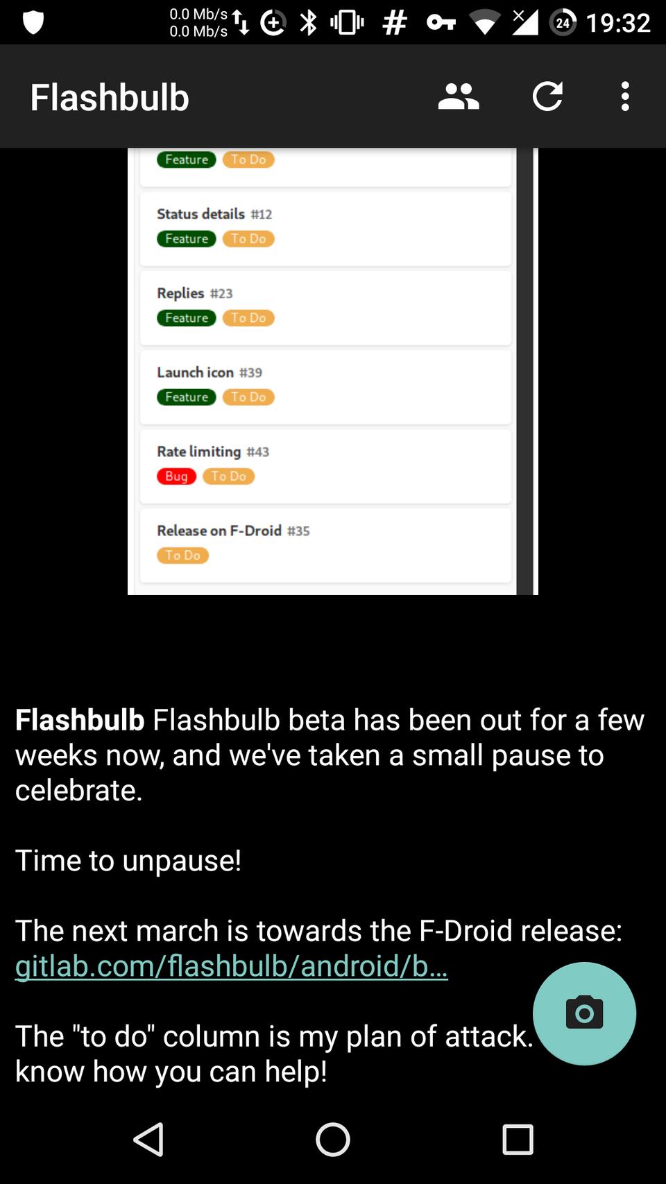 Flashbulb (@Flashbulb@fosstodon org) - Fosstodon