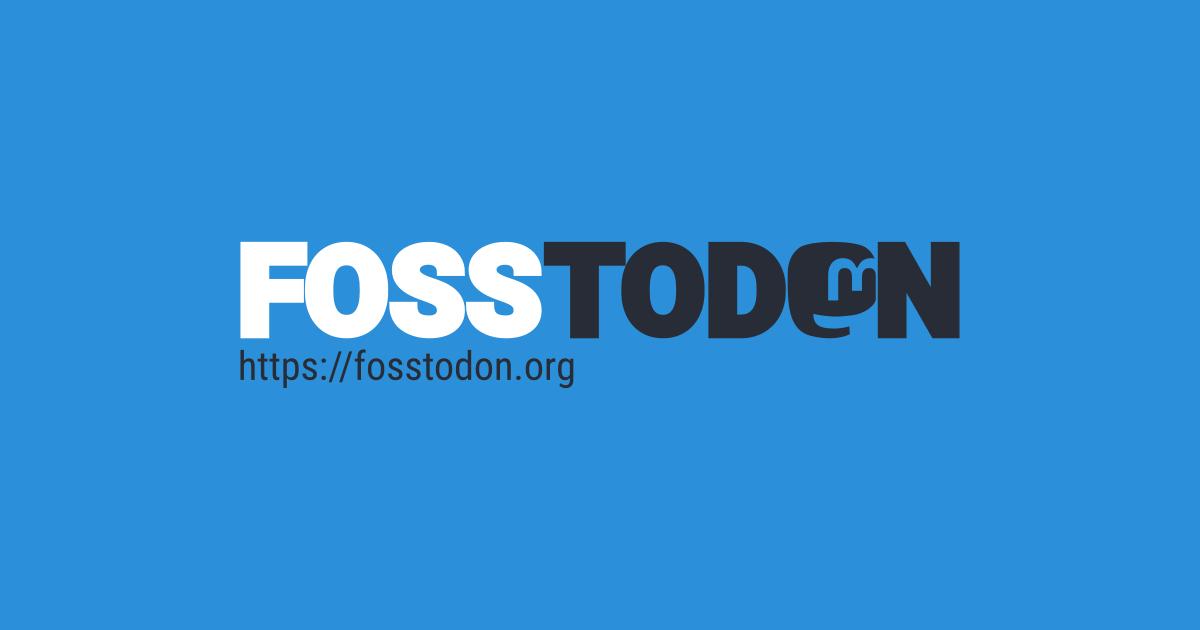 Fosstodon