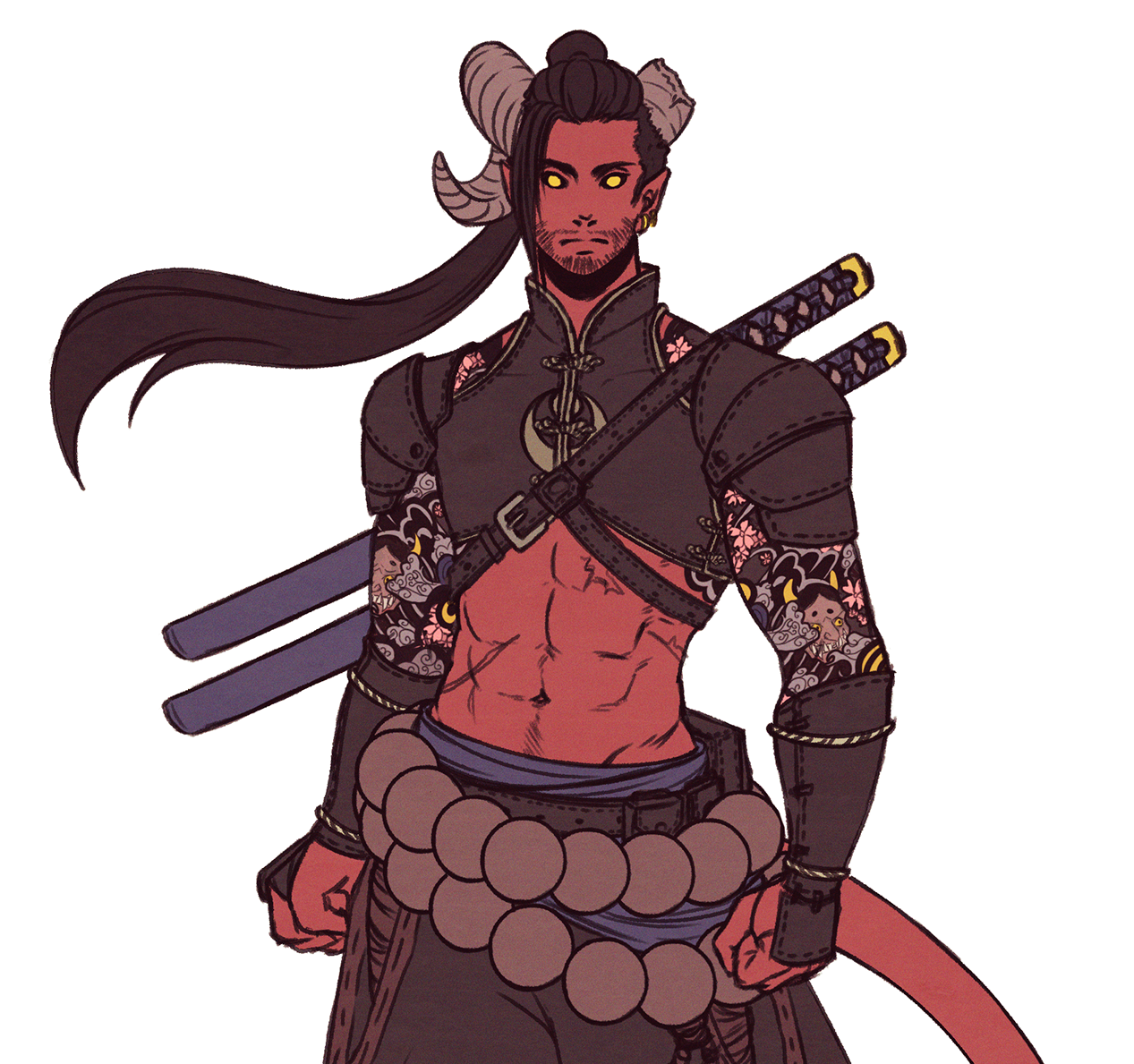 Xib I Redesigned Tempest My Tiefling Rogue After Th Mastodon Art