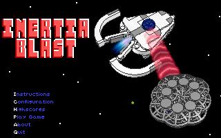 Inertial Blast Title Screen