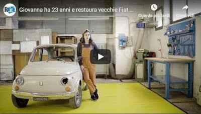 Automobili Giovanna Ha 23 Anni E Restaura Vecchie Fiat 500 P