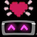 :robotlove: