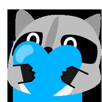 :blob_raccoon_blueheart: